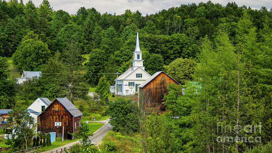 Waits River Vermont by Scenic Vermont Photography