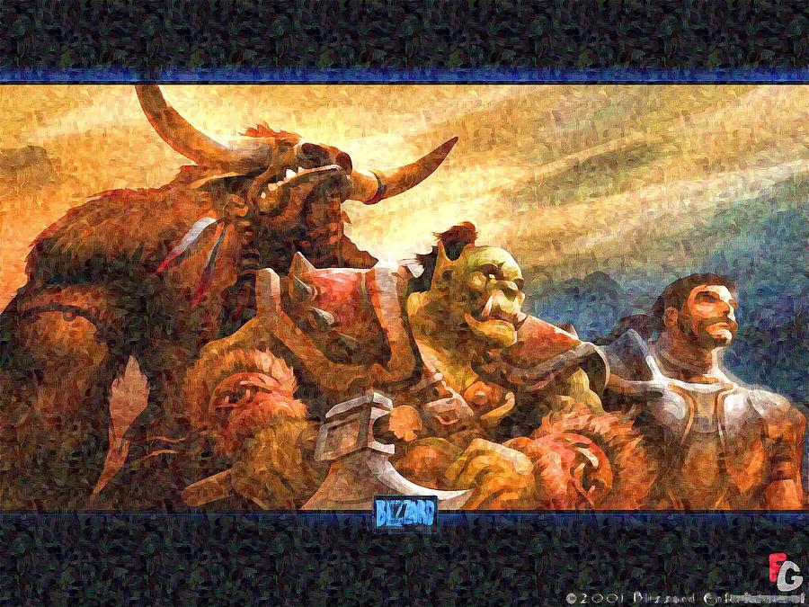 Warcraft Digital Art By Lora Battle
