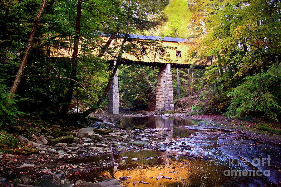 Warner Hollow Covered Bridge #35-04-25 Photograph
