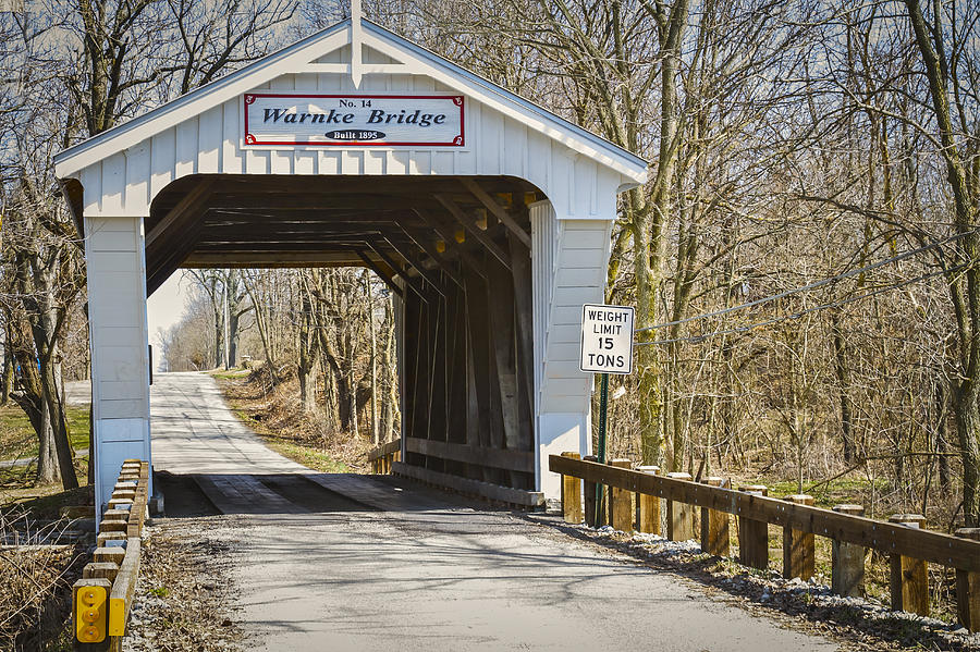 Warnke  Covered Bridge Photograph