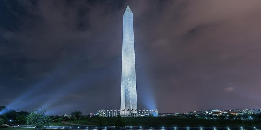 Washington Monument by Theodore Jones