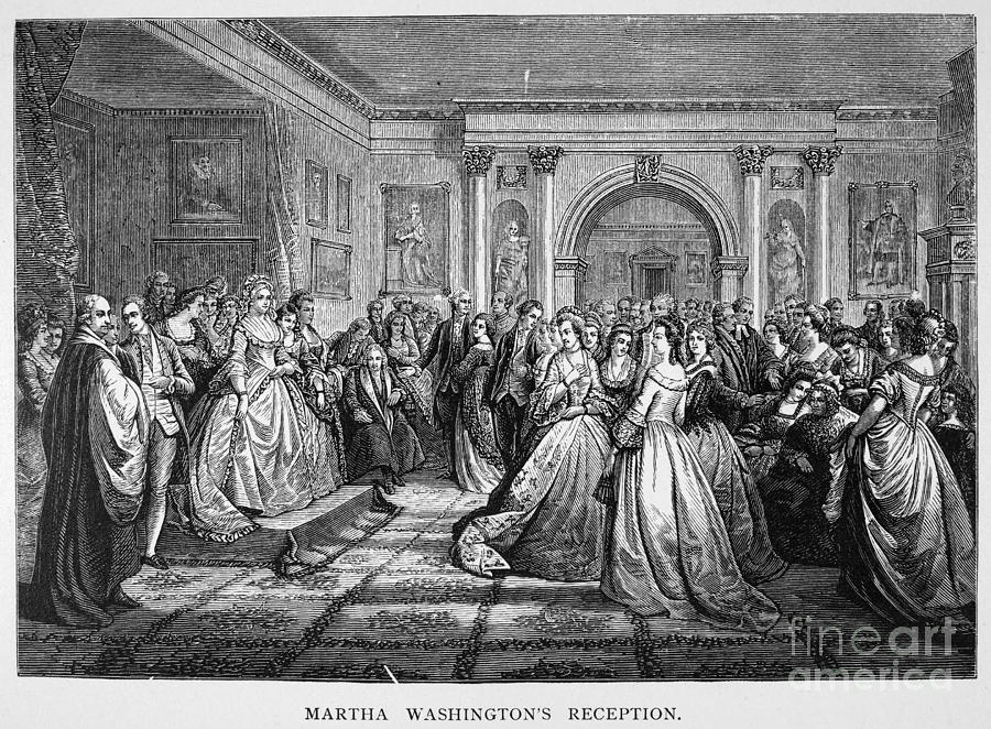 18th Century Photograph - Washington Reception by Granger