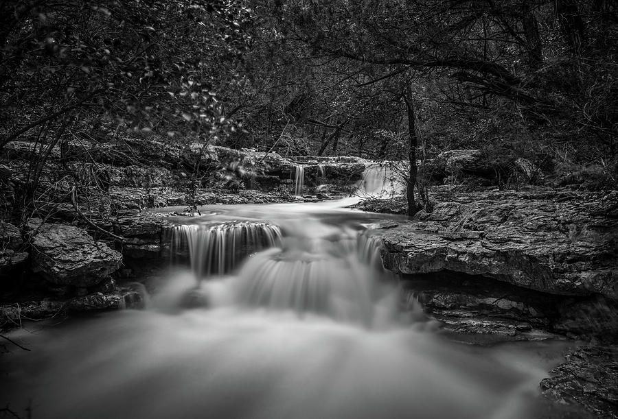 Waterfall in Austin Texas by Todd Aaron