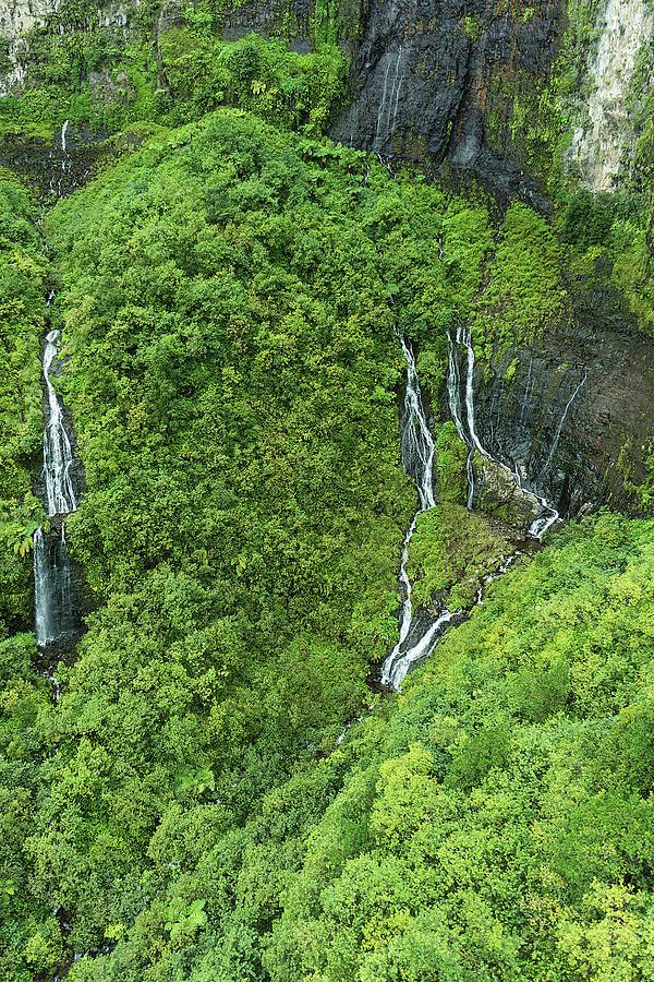 Waterfall Strings Photograph