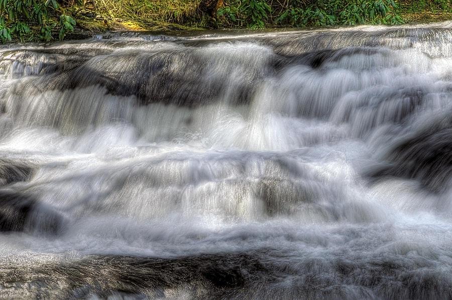 America Photograph - Waterfall by Svetlana Sewell