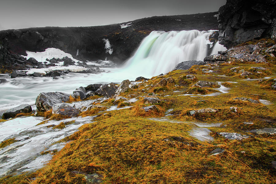 Waterfalls Photograph - Waterfalls Of Iceland by Chantelle Flores