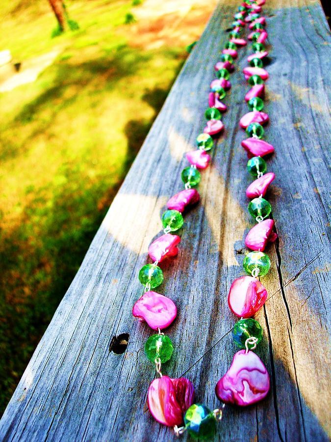 Pink Jewelry - Watermelon Set by Coty Noojin