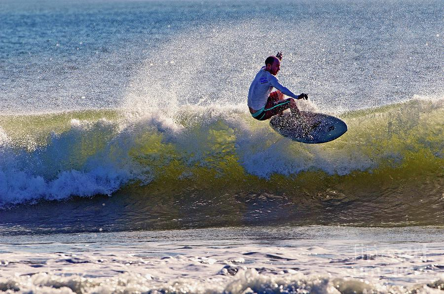 Florida Photograph - Wave Action  by Davids Digits