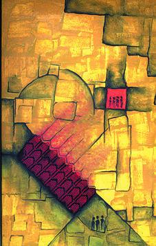 We Painting - We by Marwan Al-Allan