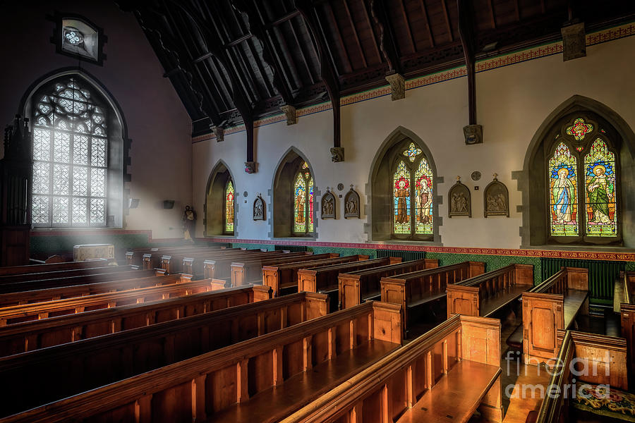Catholic Photograph - Welsh Church by Adrian Evans