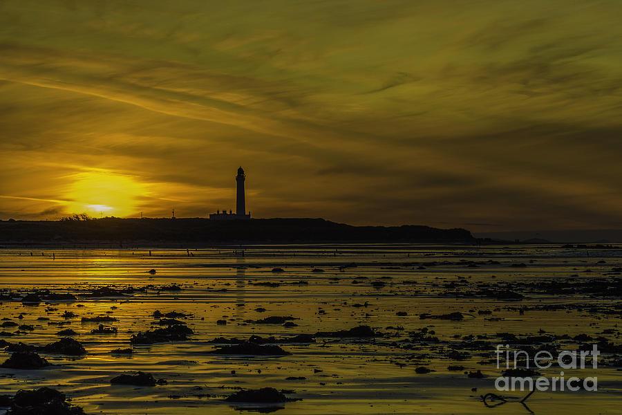 West Photograph - West Beach Sunset by Alex Millar