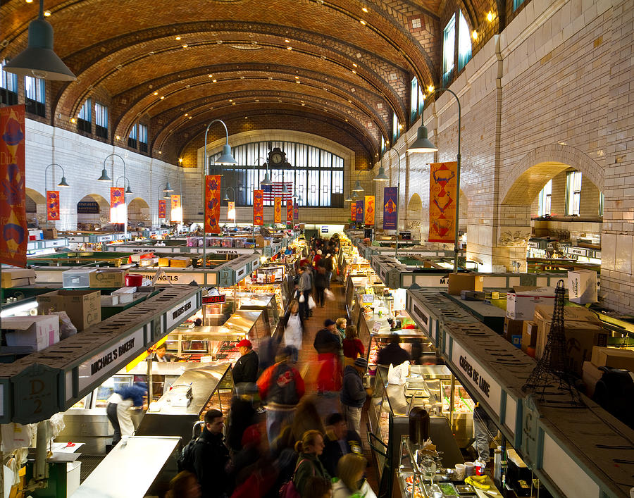 West Side Market Photograph - West Side Market  by Tim Fitzwater