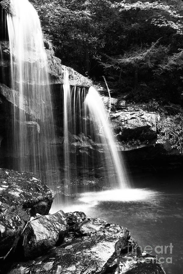 West Virginia Photograph - West Virginia Waterfall  by Thomas R Fletcher