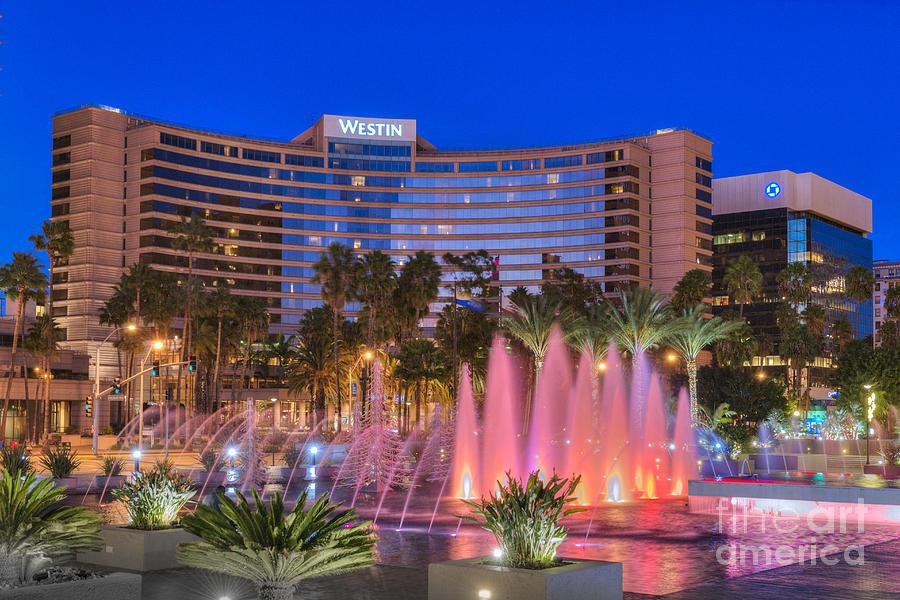 Long Beach Photograph - Westin Hotel Long Beach by David Zanzinger
