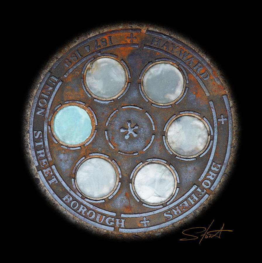 Circle Photograph - Wheel by Charles Stuart