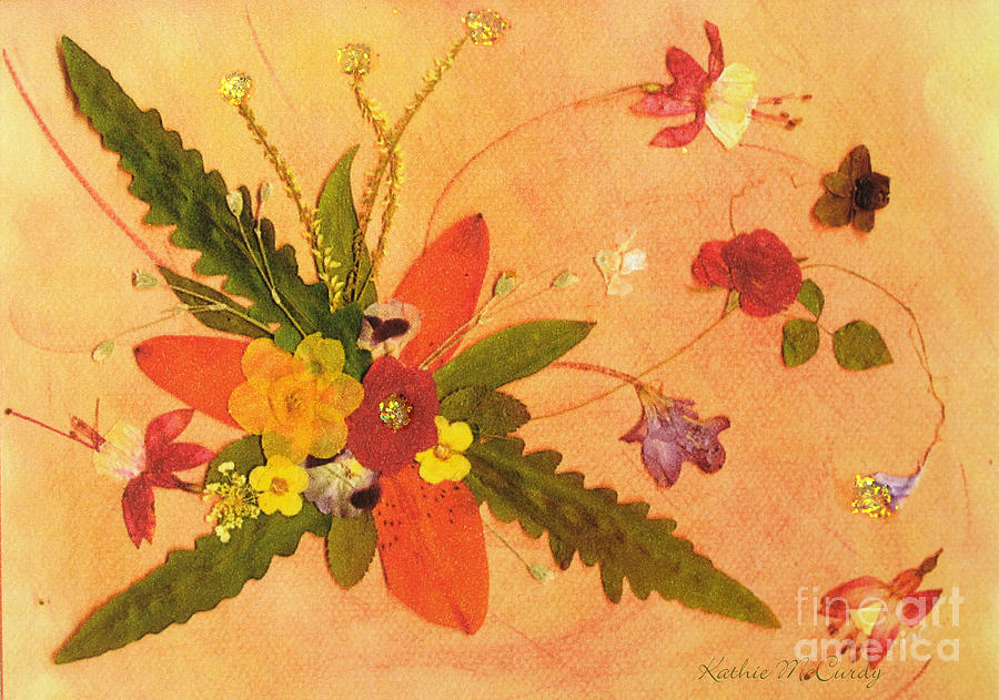 Fern Mixed Media - Whirled Away by Kathie McCurdy