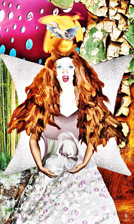 Mixed Media Digital Art - Whitout Title by Sitara Bruns
