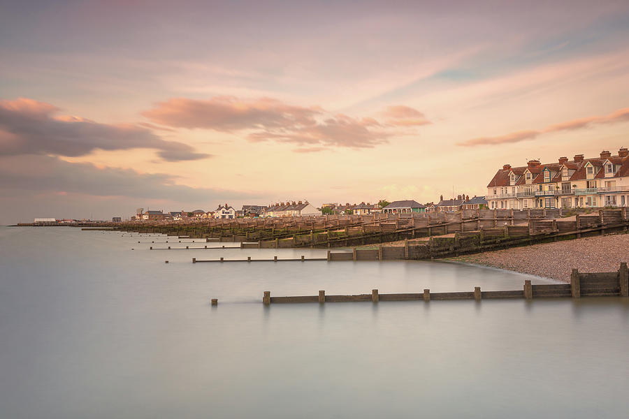 Whitstable Photograph - Whitstable Bay by Ian Hufton