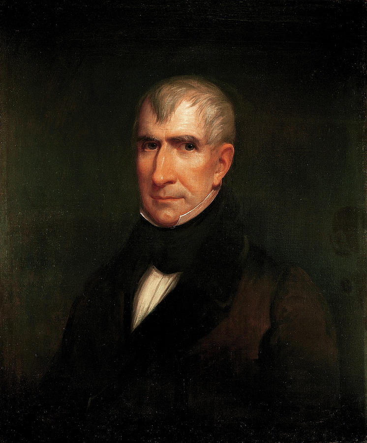 William Henry Harrison Painting - William Henry Harrison by James Reid Lambdin