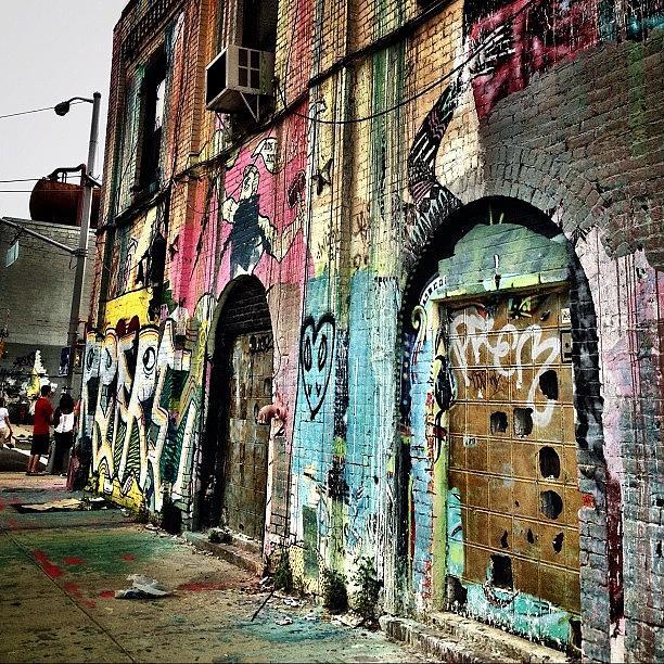 Streetart Photograph - Williamsburg Graffiti by Natasha Marco