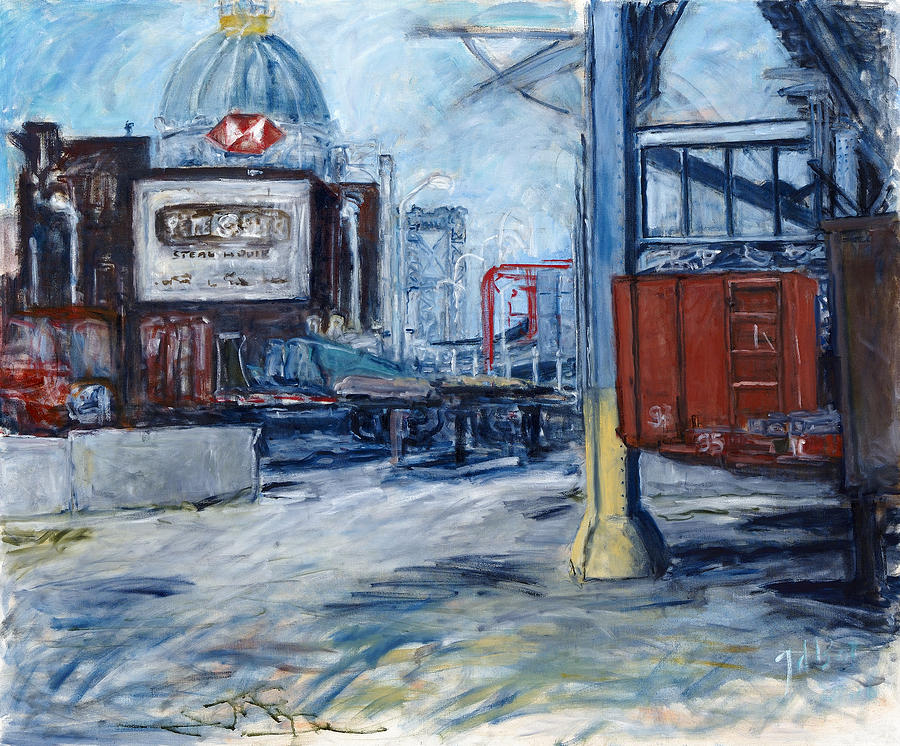 Williamsburg1 Painting by Joan De Bot