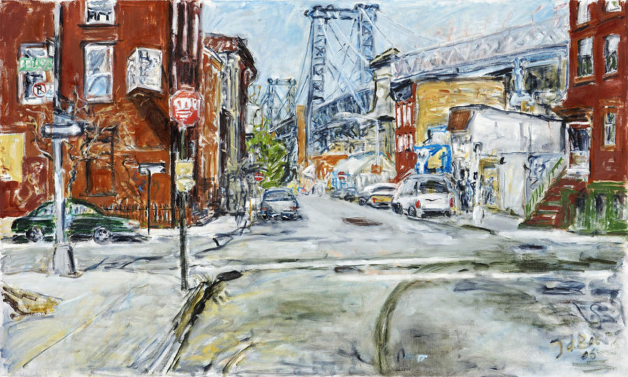 Williamsburg3 Painting by Joan De Bot