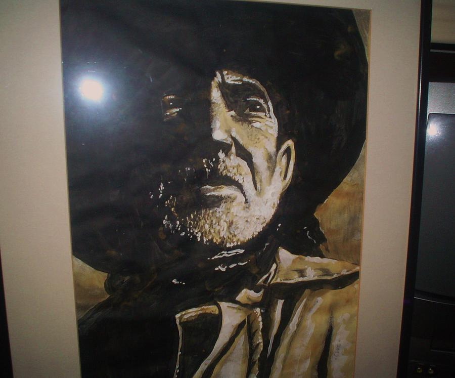 Willie Painting - Willie by Chris Mc Crossan