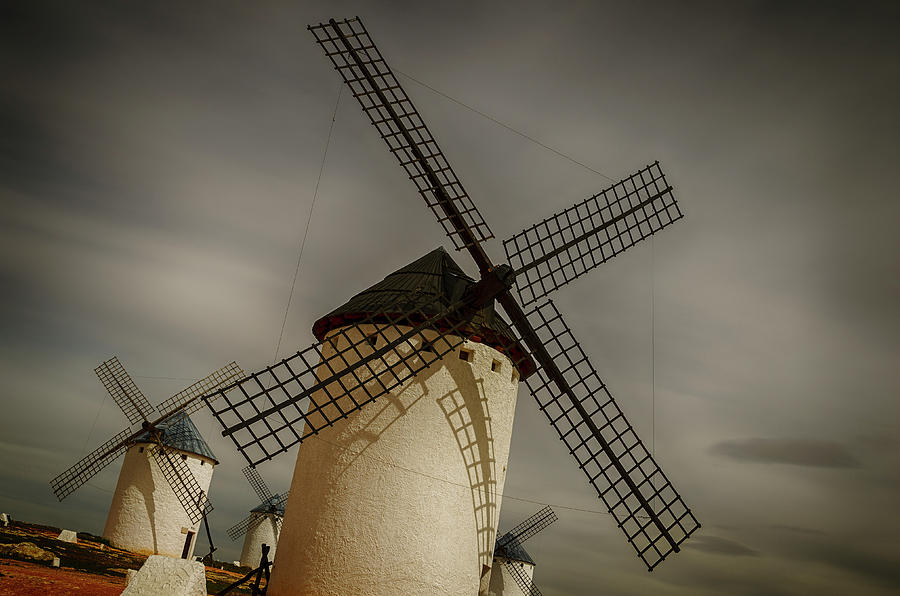 Windmills at Campo de Criptana by Pablo Lopez