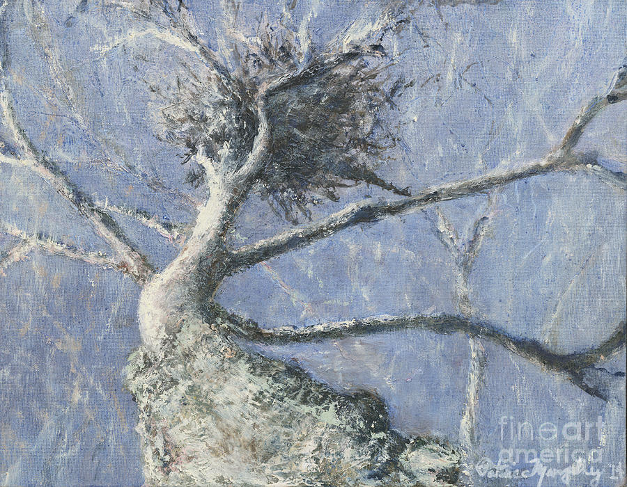 Tree Painting - Winter Dance by Patrice Murphy