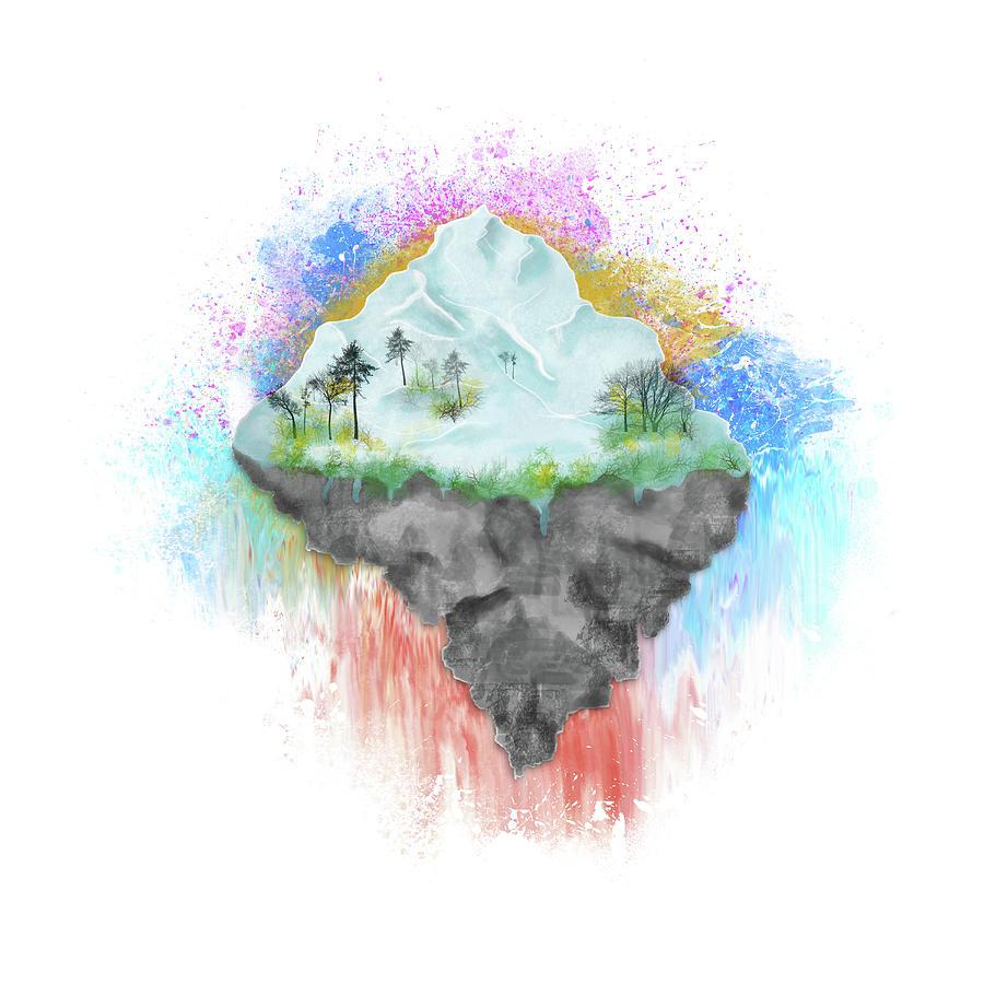 Winter Island Digital Art