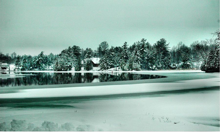 Winter Photograph - Winter Stream by Rick Couper