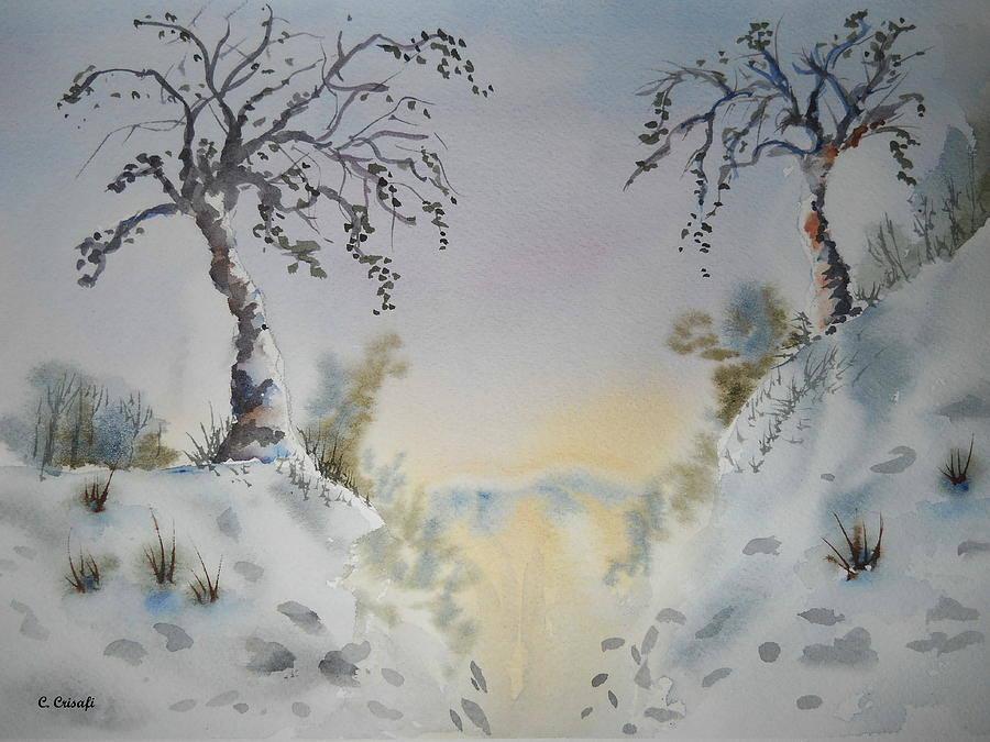 Winter Trees by Carol Crisafi
