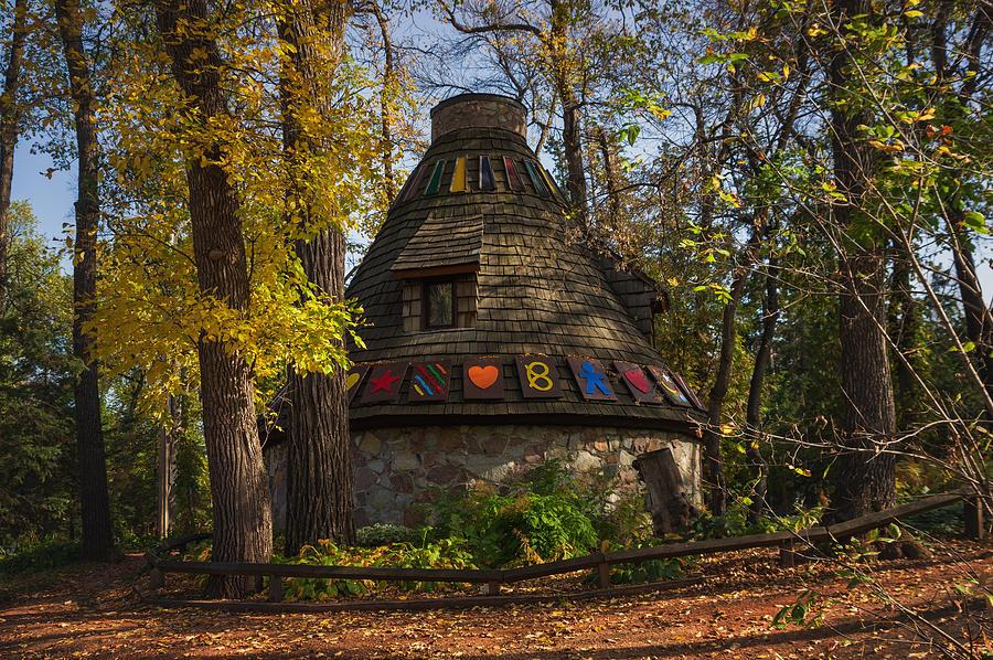 Architecture Photograph - Witchs Hut by Bryan Scott