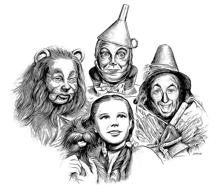 Wizard Of Oz Digital Art - Wizard Of Oz by Greg Joens