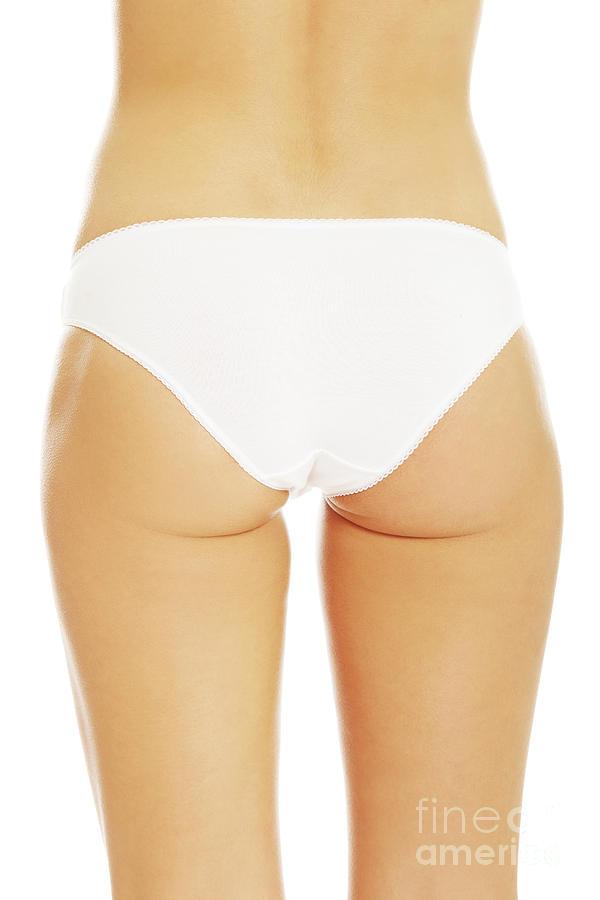 Women Photograph Womans Bum In White Panties By Piotr Marcinski
