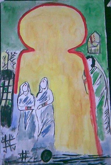 Women Painting - Women by ADITI Koranne
