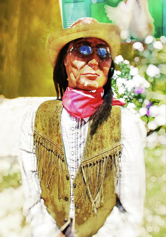 Native American Photograph - Woody by Carol Ray