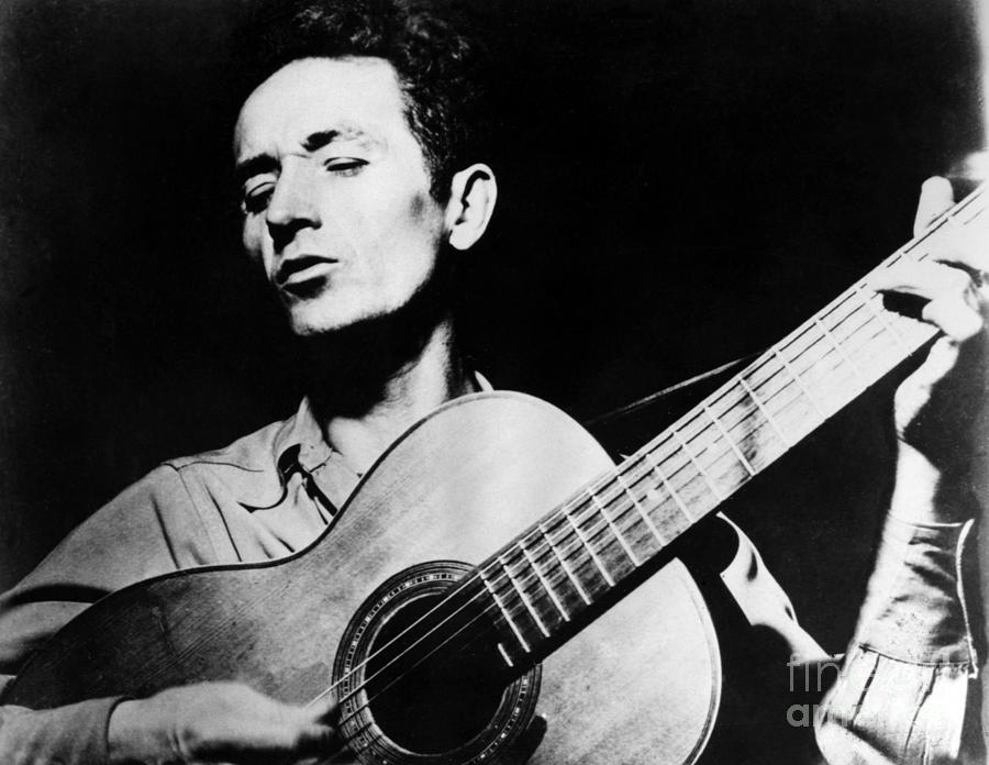 1950s Photograph - Woody Guthrie by Granger