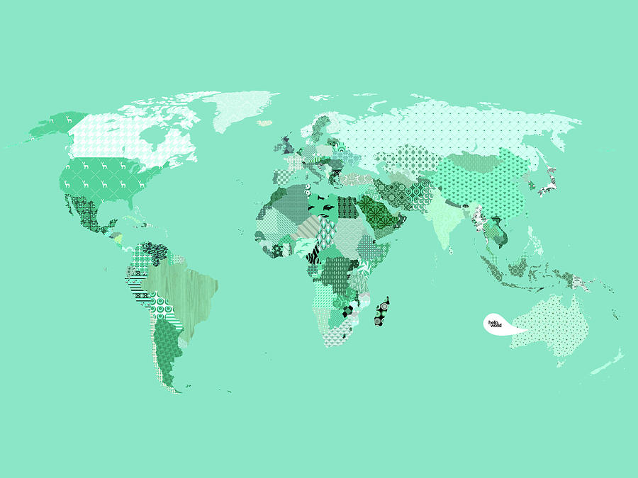 Mirrored Map Of The World.Images Of Green Mirrored World Map Rock Cafe