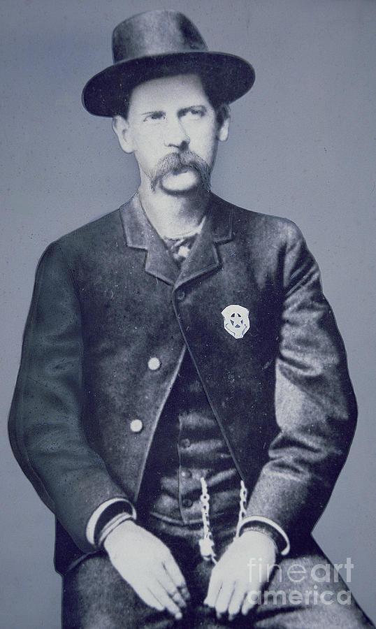 Wyatt Earp Photograph - Wyatt Earp by American School