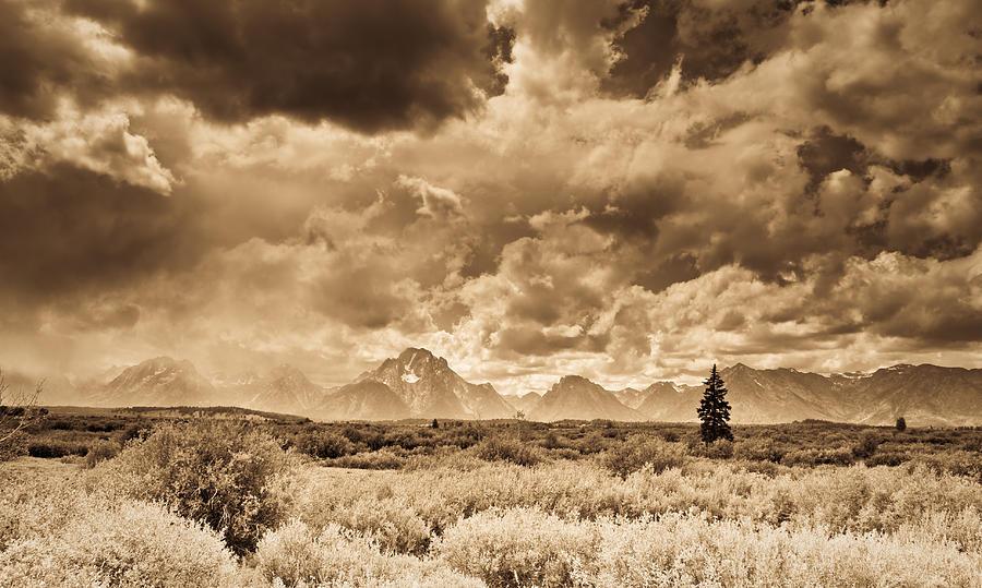 Montana Photograph - Wyoming Sky by Patrick  Flynn