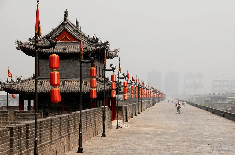 China Photograph - Xian Lanterns by Joe Bonita