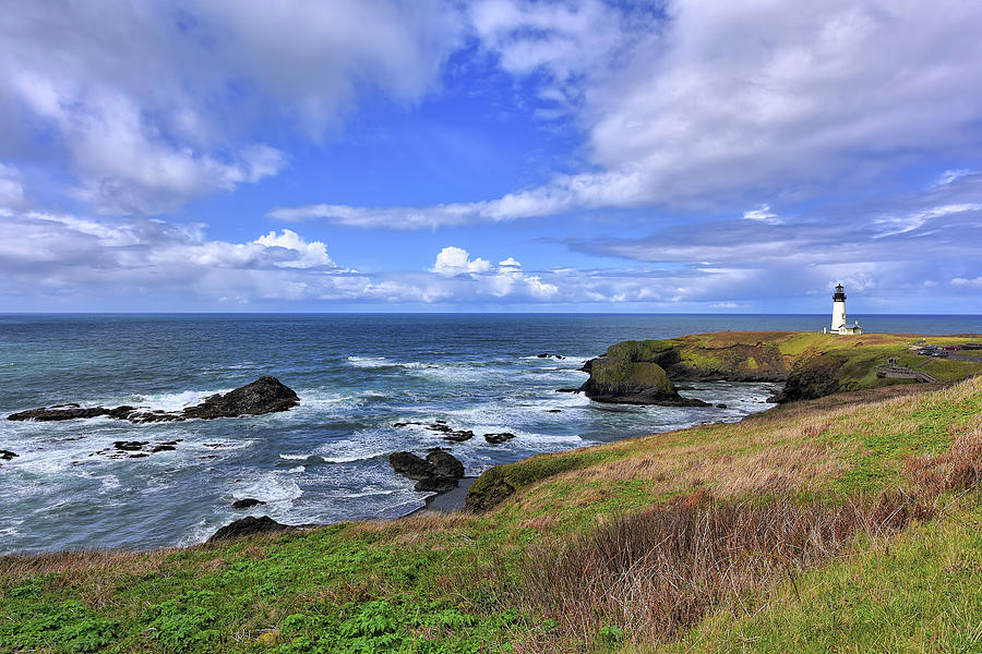 Yaquina Head Lighthouse by Mark Whitt