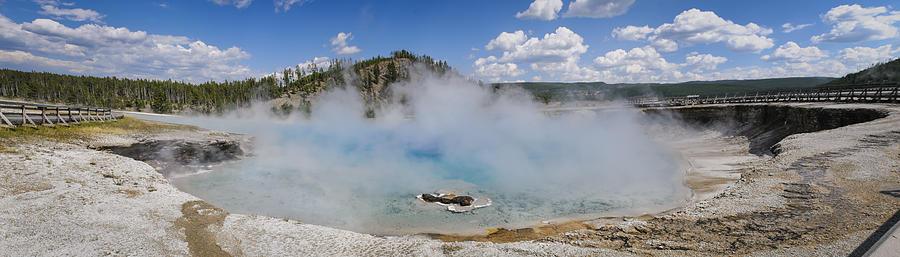 Yellowstone National Park, Wyoming, Usa Photograph