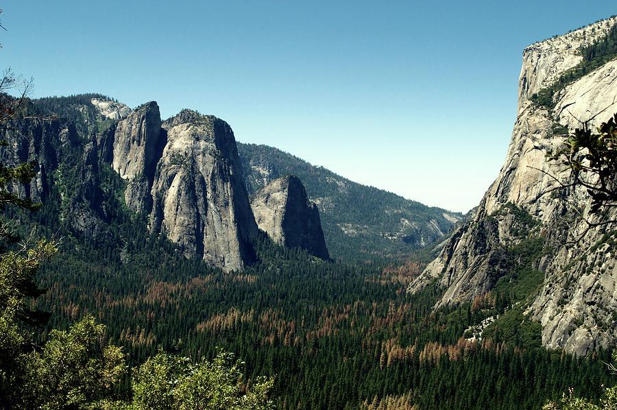 California Photograph - Yosemite Valley by Nick Jones