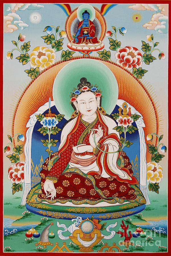 Padmasambhava Painting - Yuthok Bumseng by Sergey Noskov