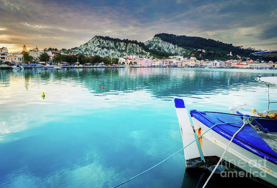 Zakynthos Photograph - Zaante Town, Zakinthos Greece by Anastasy Yarmolovich