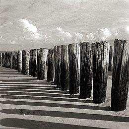 Black And White Photograph - Zeeland Holland by Antonie Woordes