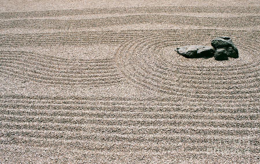 Zen Photograph - Zen Garden by Dean Triolo