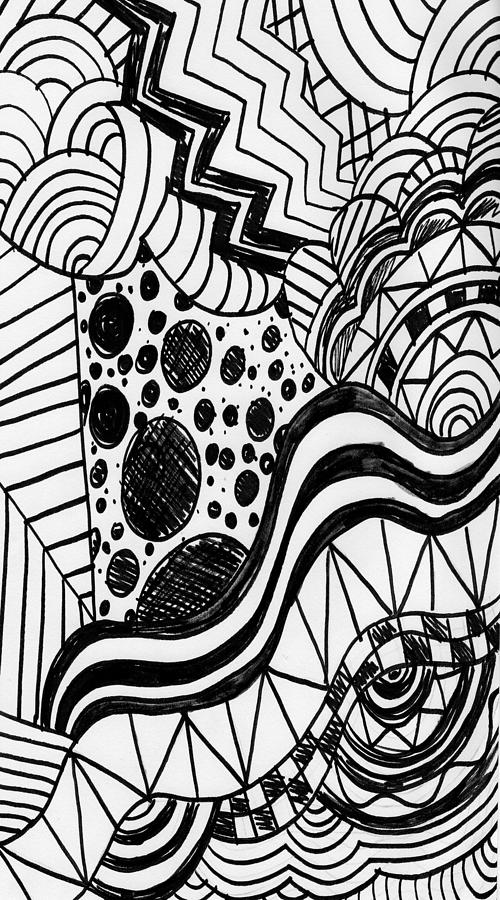 Zendoodle design drawing by alicia counter - Muster malen ...